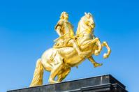 Golden Rider in Dresden