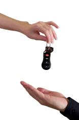 Presenting car keys