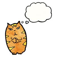 cartoon mean cat