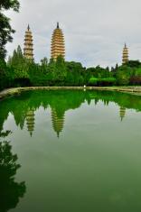 Rebuild Song dynasty town in dali, Yunnan province, China.