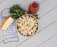 italian gnocchi plate