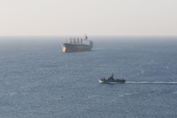 Israeli Navy patrol, Red Sea