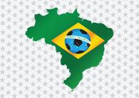 Map fottball Brasil 2014
