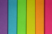 Post-it rainbow