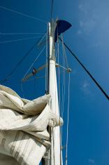 canvas mast detail