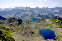 Wonderful mountains of central Europe
