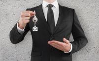 man giving a key