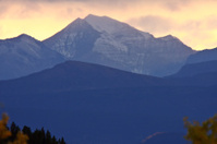 Scenic Northern Rockies of British Columbia