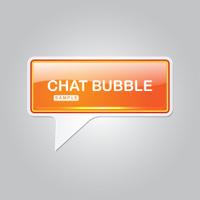 Chat Bubble Talk Balloon Vector Icon