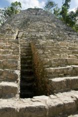 Mayan ruins of Coba Yucatan peninsula Mexico