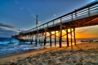 Balboa Beach Sunset