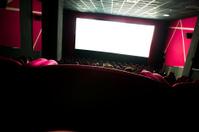 dark movie theatre