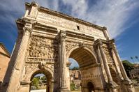 Arch of Septimius Severus. Rome. Italy.