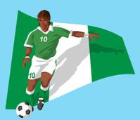 Nigerian soccer player