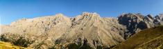 panorama of the toros mountains
