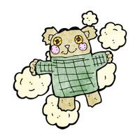 old teddy bear cartoon