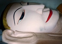 Reclining Buddha, Manuha Pagoda - Bagan Myanmar