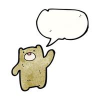 cartoon, bear, teddy,