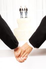 Gay Men Same Sex Marriage Wedding Ceremony
