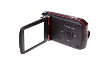 Video HD Camcorder with White Blackground - Stock Image