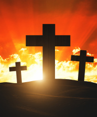 Easter good friday concept