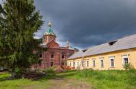 Holy Spirit Monastery in Borovichi, Novgorod region, Russia