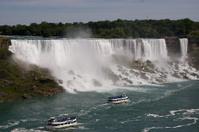 Waterfall & Boats