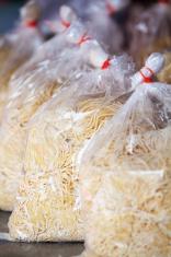 Thai noodles in bags