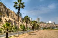 Coastal avenue in Lima