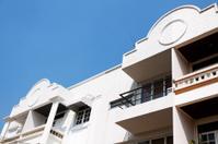 Facades and balconies in Bangkok
