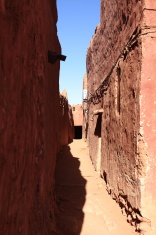Kasbah in der Sahara Algeriens