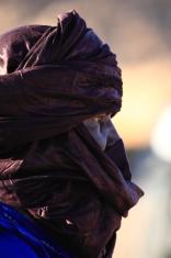 Tuareg in der Sahara