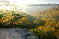 Fall Foliage in Hocking Hills