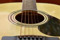 detail of classic guitar