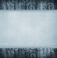 Grunge background template - blank space and vintage pattern