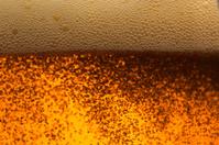 CO2 bubbles in soda soft drink