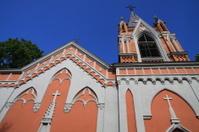 Church in Rasu cemetery in Vilnius