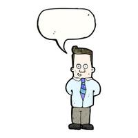 friendly office guy cartoon