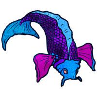 cartoon japanese fish tattoo
