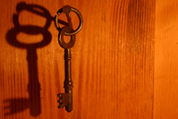 Key - hanging on wall (3)