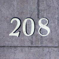Number 208