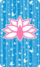 Lotus Flower & Butterflies
