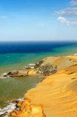 Dry Desert Coastline