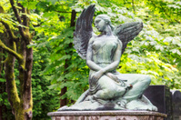 Mourning naked angel