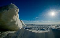 Winter Lake Huron