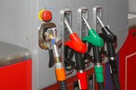 CNG gas pump