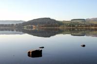 View across Bala Lake, North Wales.