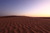 Dünen in der Wüste Sahara