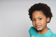 Smiling African-American Girl