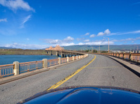 Bridge Road The Dalles Oregon To Washington From a Car